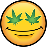 People Face Weed Leaf Eyes